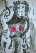 dessin personnages aquarelle personnage jeunesse illustration : My Alice