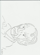 dessin personnages charles baudelaire : Baudelaire