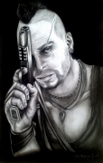 dessin personnages farcry vaas far cry game : far cry Vaas
