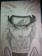 dessin personnages : Naruto