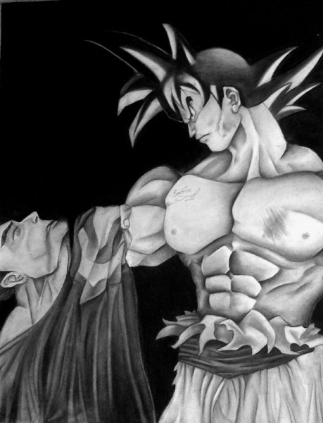Dessin Sangoku Superman Marvel Manga Sangoku Vs Superman