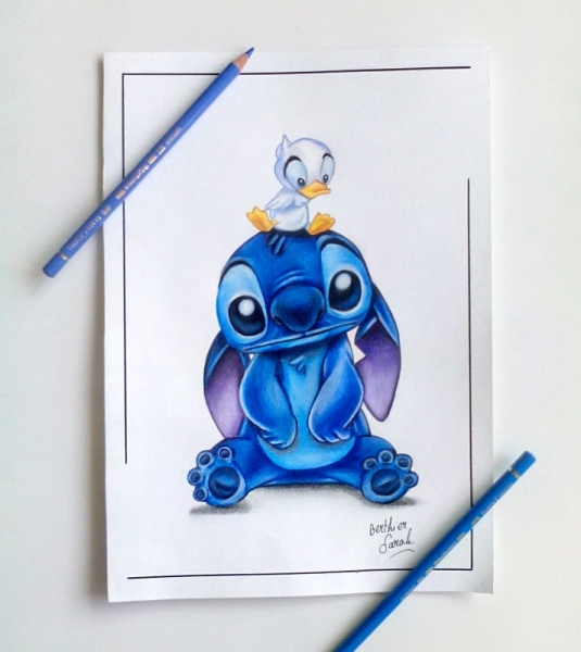 Dessin Stitch Lilo Et Stitch Disney Mignon Dessin Stitch Et Le