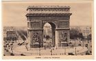 CARTE POSTALE PARIS L ARC DE TRIOMPHE