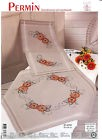 Permin  27-2761  Nappe  Gerberas  Broderie  traditionnelle