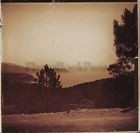 Paysage Sud de la France Photo Stereo Verre Positive Vintage