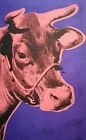 Andy Warhol, Cow Pink and Purple 1976, Hand Signed Lithograph