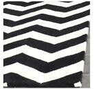 Safavieh  Chatham  Hand-Tufted Black /Ivory Area Rug 122 x 183cm