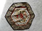 FLEURS+insecte -BRODERIE CHINOISE 1920 ancienne