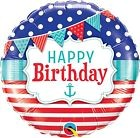 Qualatex Happy Birthday Foil Party Balloons For Kids,Mum,Dad-Party Decoration 2