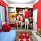 Neuf ONE DIRECTION 1D Harry Styles Papier peint géant mural camping-car