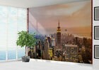 New York Aerial View Empire State Building Wall Papier-Peint Mur Mural