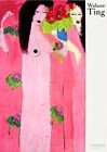 """Walasse Ting """"Chinoise rosé - Chinese pink"""", Poster 1988, wie neu"""