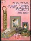 QUICK AND EASY PLASTIC CANVAS PROJECTS  MARIE THIESEN DOVER PUBLICATIONS 1984