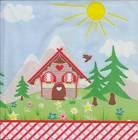 Lot de 4 Serviettes en papier Paysage Maison pour Decoupage Collage Decopatch