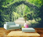 3D Jungle Photo Papier Peint en Autocollant Murale Plafond Chambre Art