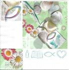 Lot de 4 Serviettes en papier Communion pour Decoupage Collage Decopatch