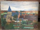 Lot de 2 tableaux exposition de paris 1926