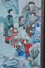 Ancien tableau Chine 1900 Antique Chinese picture printed frame print china