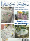 REVUE BRODERIE TRADITION N°26 MARS 2012 NAPPES NAPPERONS TRADITIONNELLE