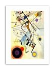 KANDINSKY COMPOSITION VIII Poster Picture Canvas art Prints