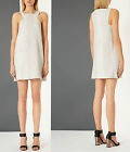 BNWT Topshop Grey Textured Snake Shift Dress by Boutique 12 14  £120  Kate Moss