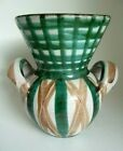 Robert Picault Vase COLLECTION Vallauris Mid Century Modern 1950's signed RARE