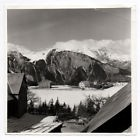 PHOTO FRANCE Paysage de montagne Chalet Alpes Vers 1960 France ? Station ski ?