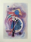 WASSILY KANDINSKY LARGE POSTER AFTER THE ORIGINAL 1925 HOMMAGE A GROHMANN