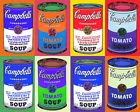 Andy Warhol Campbell Soup Pop Art Canvas Wall A2 A1 A0 Large Gift Present OC0055