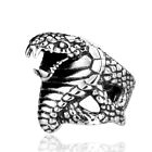 Vintage Bague Titanium Stainless Steel Mens Gothic Rock Punk Ring Cool Jewelry