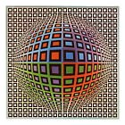 "Victor VASARELY - Ouvrage ""VASARELY - Gordes/Vaucluse"" - Lithographies, Tableaux"