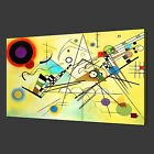 WASSILY KANDINSKY COMPOSITION CANVAS PRINT WALL ART READY TO HANG