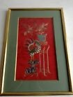 ANCIENNE BRODERIE SOIE CHINOISE CHINE XIX ANTIQUE CHINESE EMBROIDERY