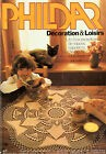 CATALOGUE CROCHET PHILDAR DECORATION LOISIRS.NAPPE NAPPERON CHEMIN DE TABLE N°1