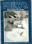 CATALOGUE CROCHET PHILDAR DECORATION ET LOISIRS  N°8 NAPPE NAPPERONS COUVERTURE
