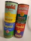 Andy Warhol Campbell's Tomato Soup Cans 2012 Limited Edition Complete Set of 4