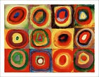 Kandinsky - Concentric Circles - abstract fine art print poster - various sizes