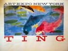 WALASSE TING art expo New York, Affiche, poster