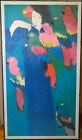 WALASSE TING Early in the morning - Art Unlimited Amsterdam, Poster, affiche