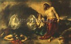ETTY WILLIAM CHRIST APPEARING MARY MAGDALENE AFTER RESURRECTION ARTISTE TABLEAU