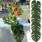 12 pièces Tropical Grand artificiel Palmier feuilles table décoration napperon