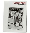 Cadre photo design original photo journal LONDON OBSERVER 18 x 23 cm