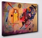"""Wassily Kandinsky Yellow-Red-Blue Box Canvas Print Wall Art 20"""" X 30"""" inches"""