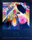 Wassily Kandinsky Lady en Moscou 1987 Los Angeles Musée Exhibition Affiche