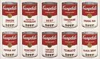 ANDY WARHOL CAMPBELL'S SOUP FINE ART CANVAS A1 ICONIC RETRO 20 X 30 WALL MODERN