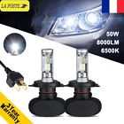 50W 8000LM H4 Philips LED Ampoules Voiture Phare Feux Lampe Replacer Hi-Lo Xénon