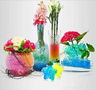 10000 BILLES GEL MARIAGES ART FLORAL PERLES D'EAU DECORATION VASES HYDROGEL DIY