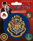 Harry Potter Stickers Gryffindor Hufflepuff Ravenclaw Slytherin Expecto Patronum