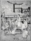 """Women at Chinese Court 16th cent-In the Style of Kano Eitoku ,12x8""""(A4) Poster"""