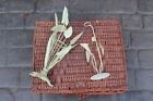Wicker Hamper Very Old Plus French Table Decorations